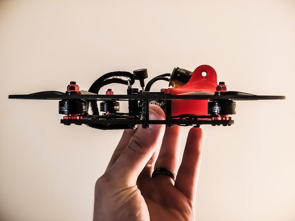 Cine-Bird OG FPV Frame Kit - Carbon Fiber Guard Set Only