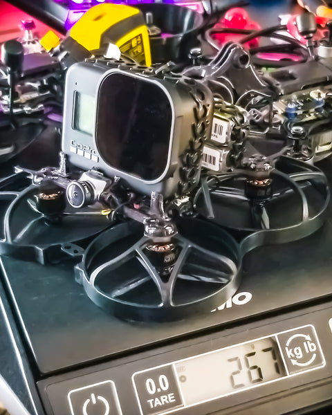 Pusher Bee 95X Cinewhoop Mount (FULL HERO+LIPO)(Analog)