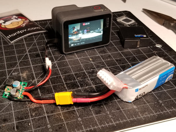 Anti-Battery Mod Kit for GoPro/One-R