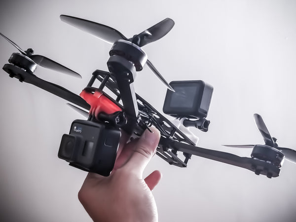 HERO8 Vibration Dampening Drone Mount (Frame Specific Version)