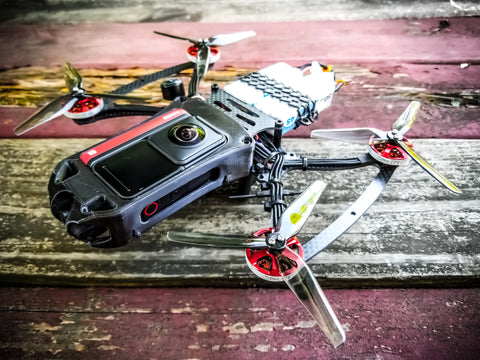 CINE-BIRD OG Cinematic FPV Full Drone Build - Invisible 360 Drone Capable!
