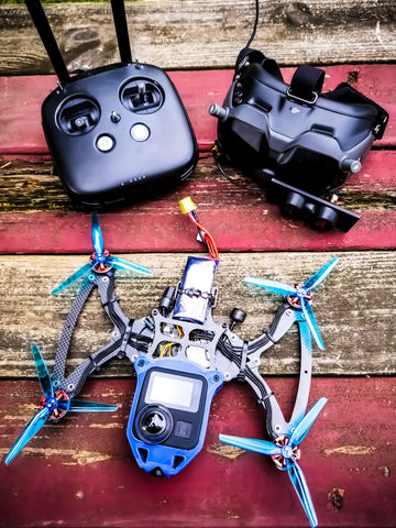 Cine-Bird XL *Ready to Fly* Custom Drone Build (Invisible Drone Capable!)(Tested and Tuned by Stan FPV)