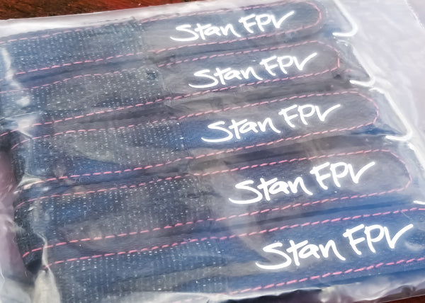 Stan FPV Strong AF Lipo Straps - 20mm x 225mm