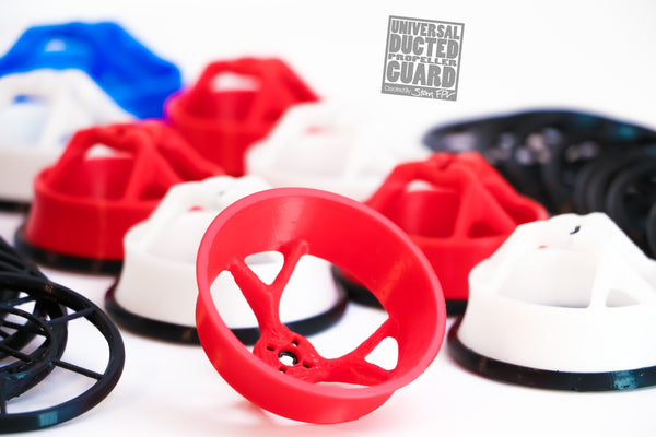 "2.5"" Universal Ducted Propeller Guards (REMOVABLE TOP!) (FULL SET + 1 FREE!)"