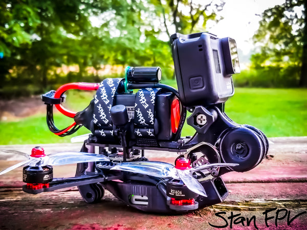 DJI HD FPV RTF Micro Cine-Drone (DRONE ONLY) - Custom Build, Test & Tune