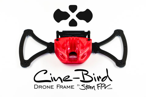 "CINE-BIRD Cinematic FPV Drone Frame-Kit w/ ""Invisible 360 Drone"" Feature!"