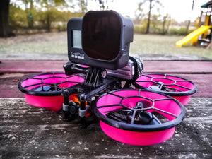 HERO8 Capable GoPro/Lipo Cinewhoop Mounts