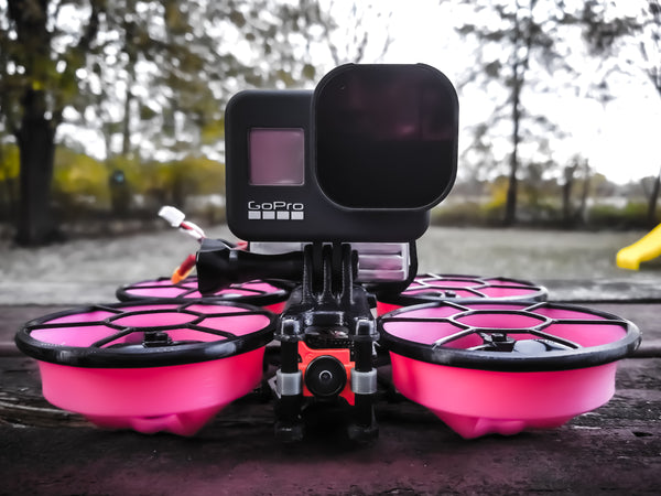 NEW HERO8 Capable GoPro/Lipo Cinewhoop Mounts