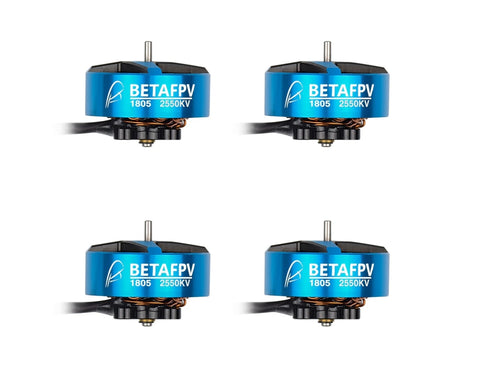 BetaFPV 1805 2550KV Brushless Motors  (Set of 4)