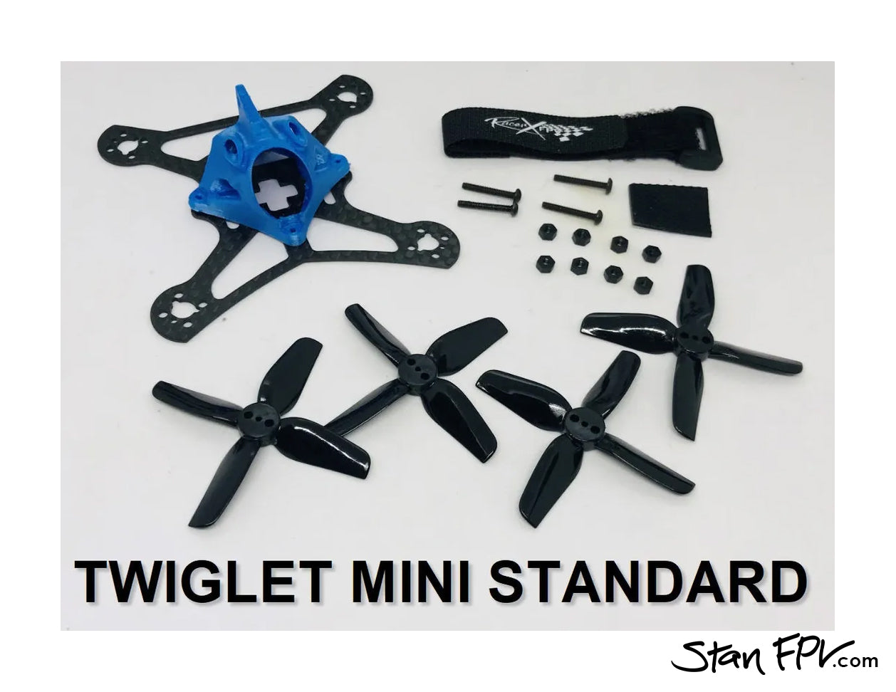 "Racer X FPV - Twiglet ""MINI"" Drone Frame-Kit (85mm) w/ Lo-Pro UDP-Guards!"