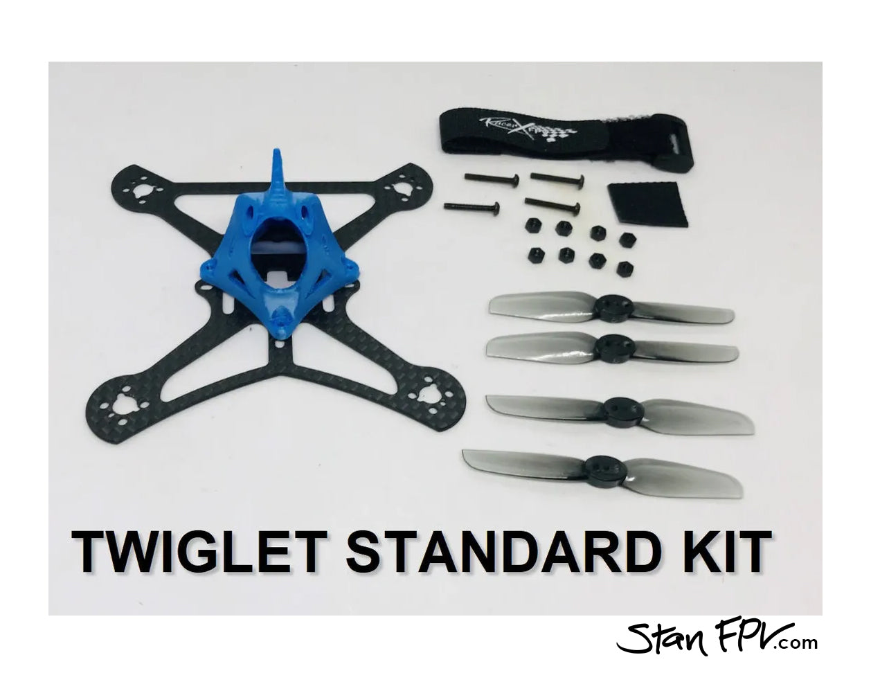 Racer X FPV - Twiglet Drone Frame-Kit (100mm) w/ Lo-Pro UDP-Guards!