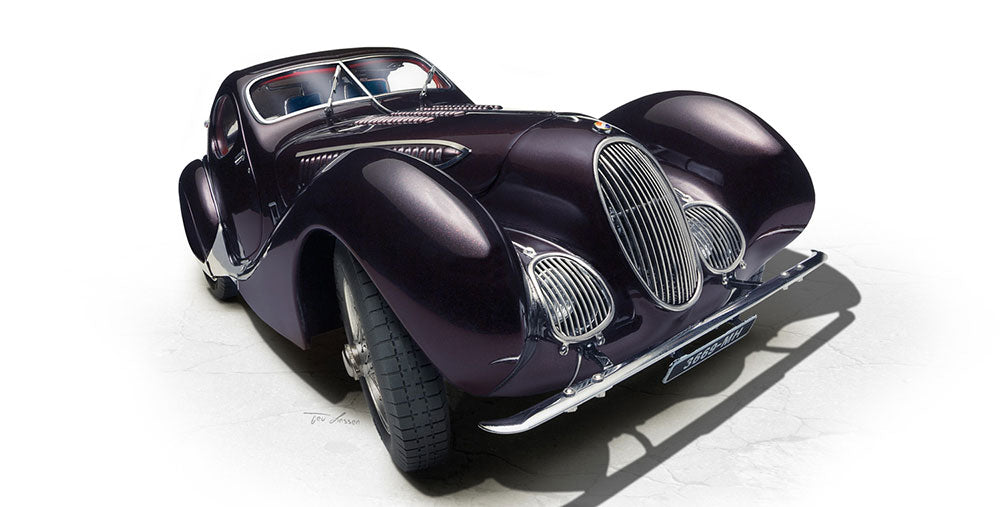 talbot lago teardrop coupe memory edition 1:18