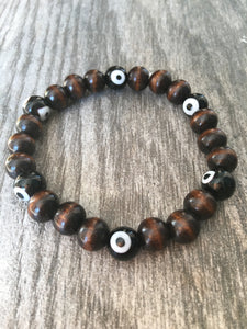Tigereye Lucky Eye Bracelet