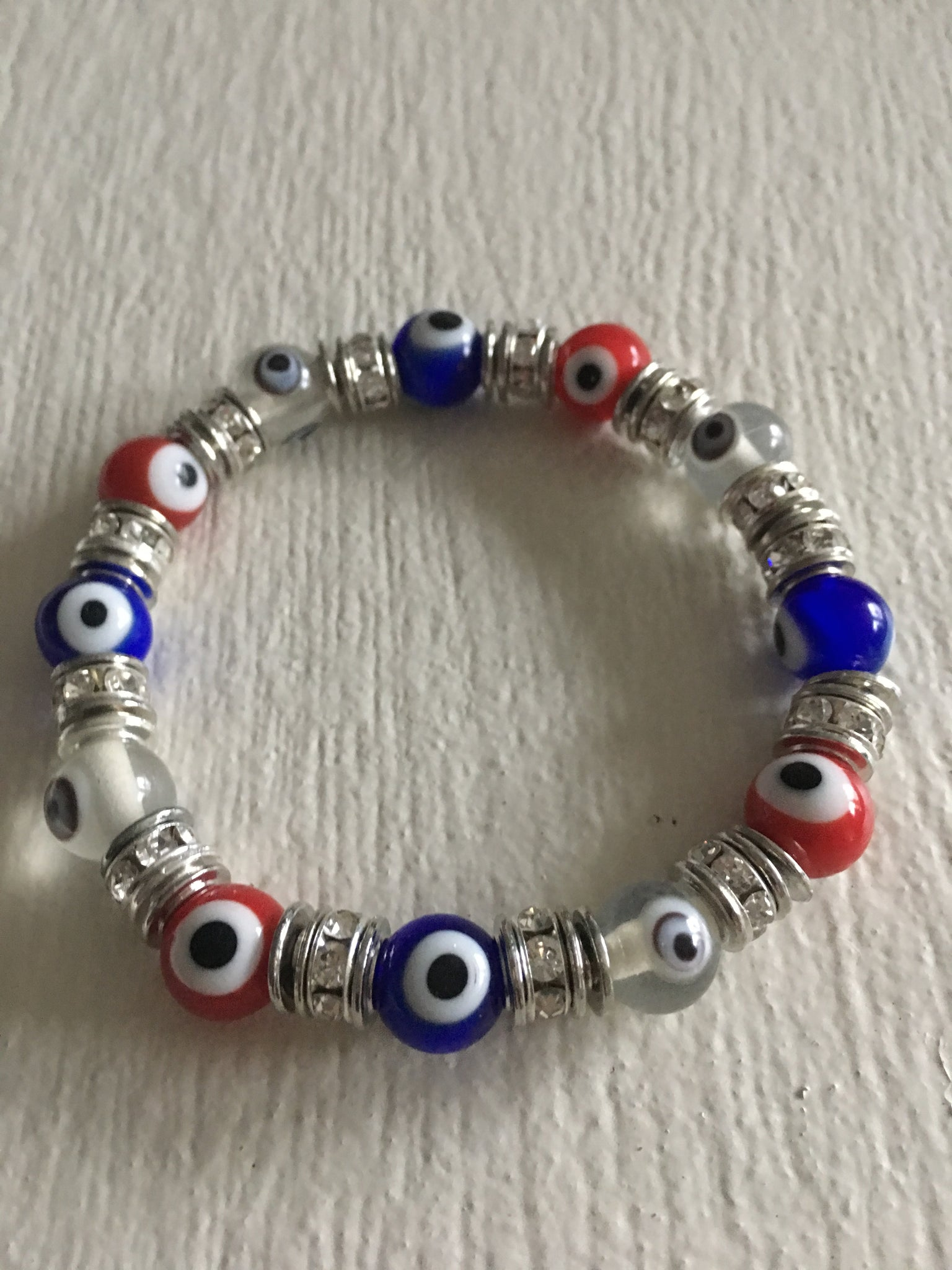 Red, White And Blue Lucky Eye