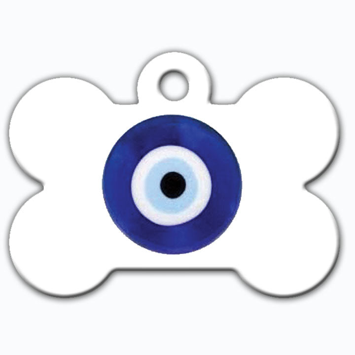Lucky Eye Bone Dog Tag