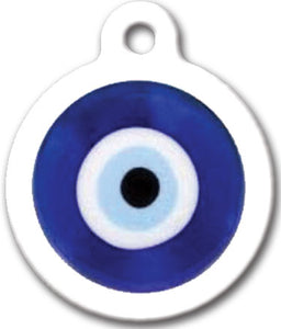 Lucky Eye Oval Dog Tag
