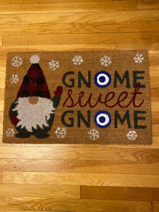 Gnomes Sweet Gnomes Door Mat