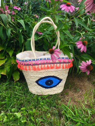 Evil Eye Tote bag