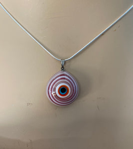Murano Glass Evil Eye Pendant