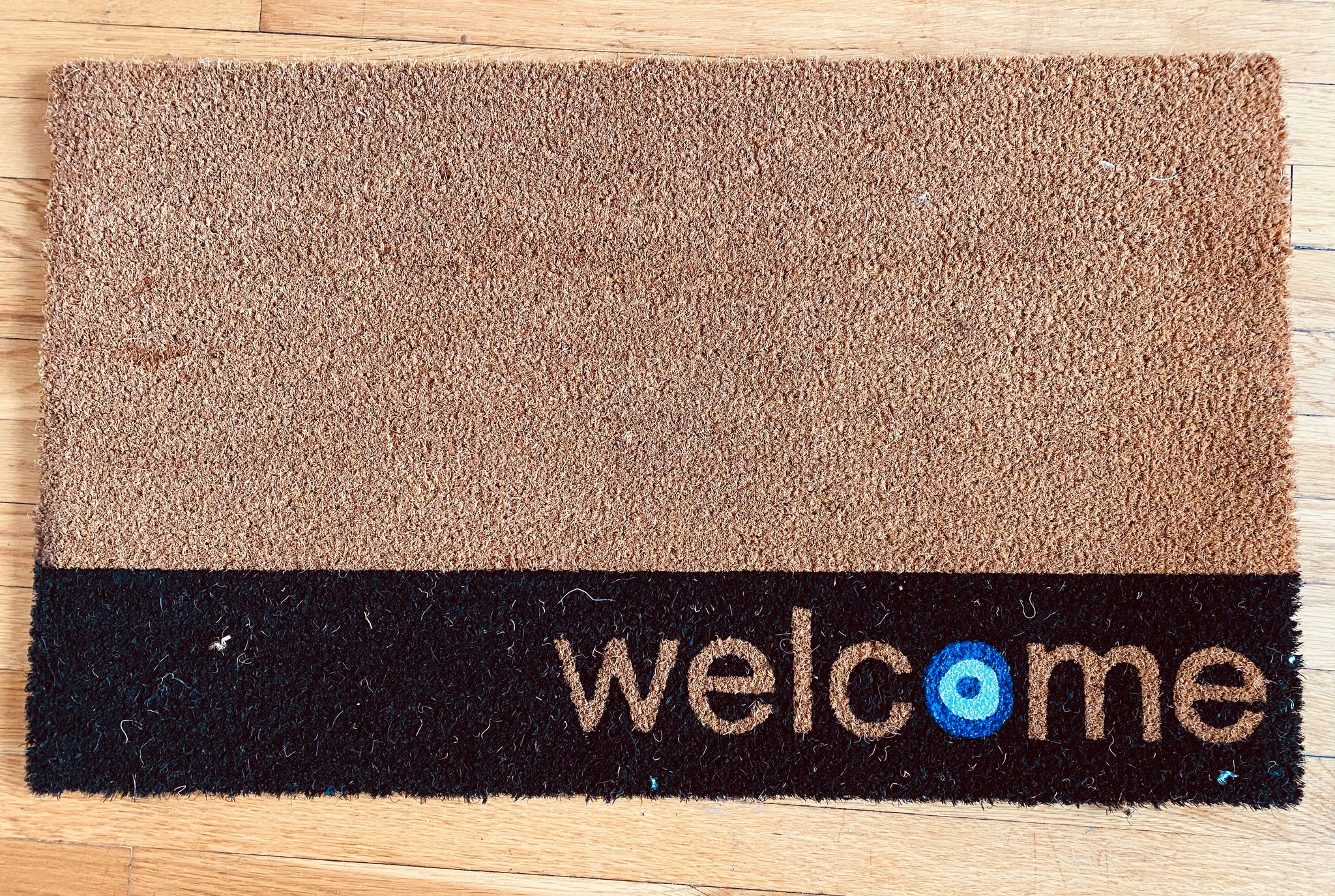 Evil Eye Door Mat