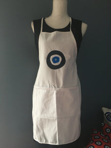 Evil Eye Canvas Apron