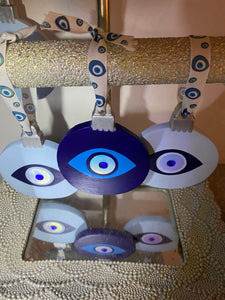 Evil Eye Christmas Ornament
