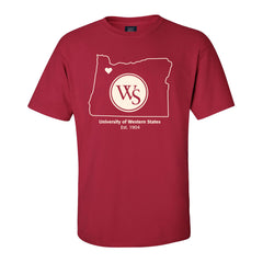 UWS Oregon Outline Classic Tee