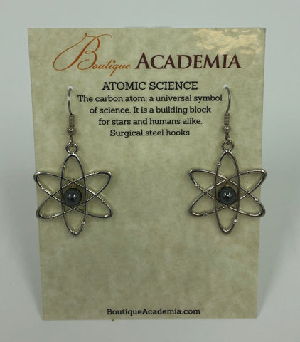 Earrings-Atomic Science