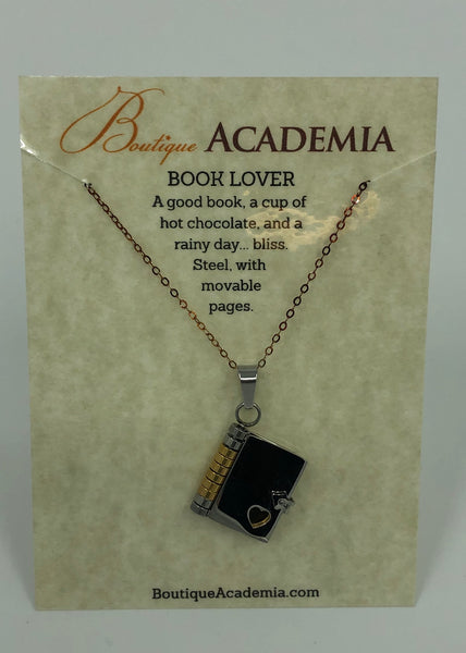 Necklace- Book Lover