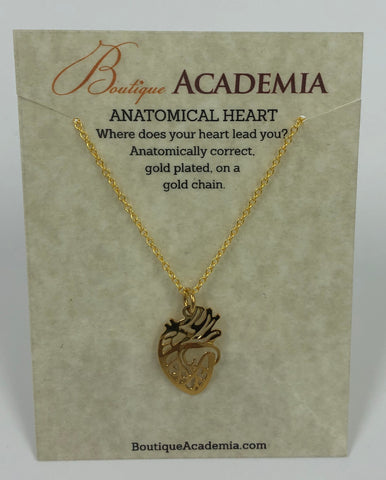 Necklace- Anatomical Heart
