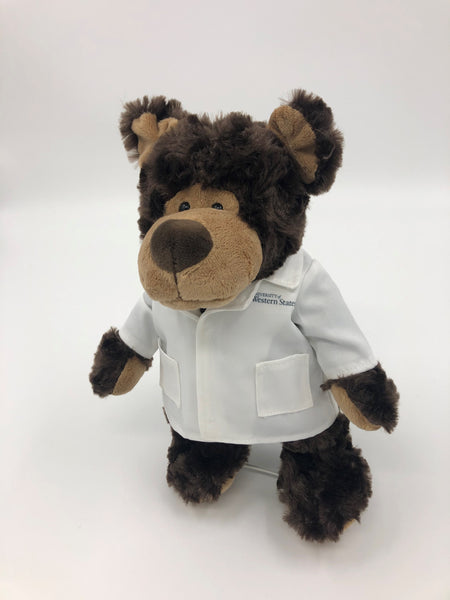UWS Plush Cozy Bear with Lab Coat