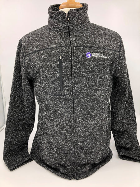 UWS Sweater Jacket-Mens Fit Black