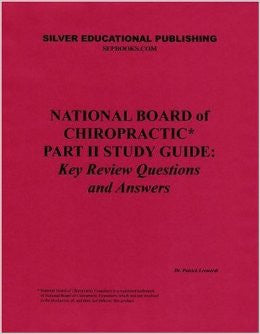 National Board of Chiropractic Part 2 Study Guide