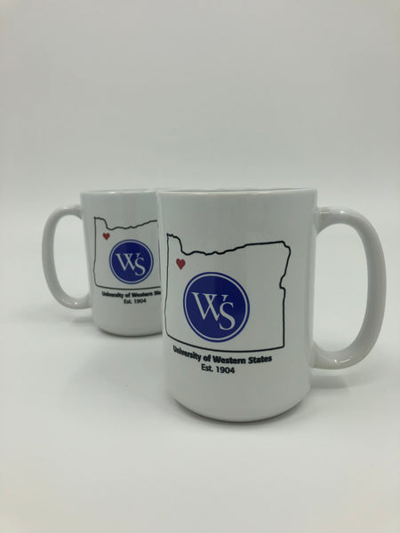 UWS Mug Oregon Outline