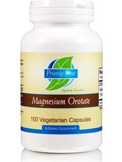 Priority One Magnesium Ororate - 100 Vegetarian Capsules