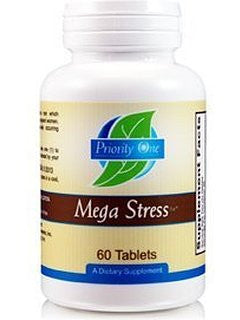 Priority One Mega Stress - 60 Tablets