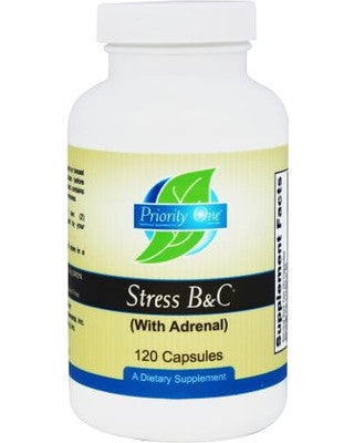 Priority One Stress B&C - 60 Capsules