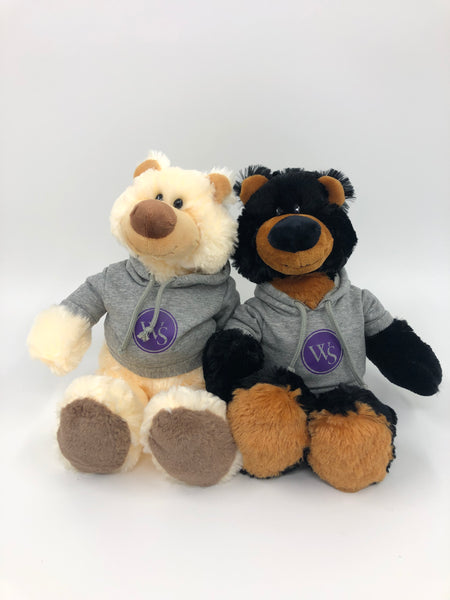 UWS Plush Teddy Bear-Ziggy & Iggy