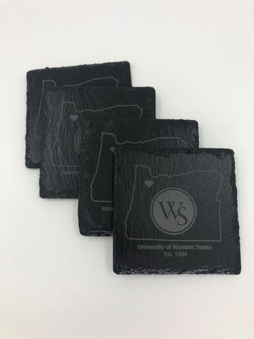 UWS Slate Coaster Set