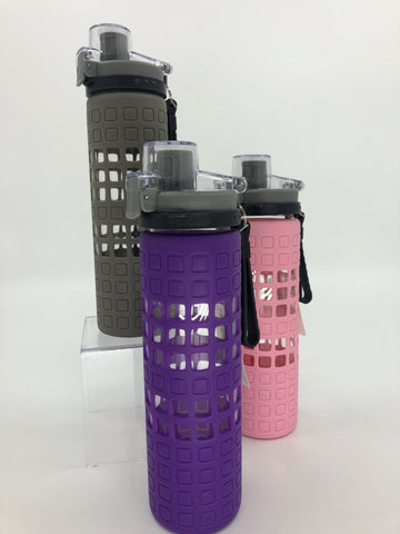 Bottle-Glass with Silicone cover