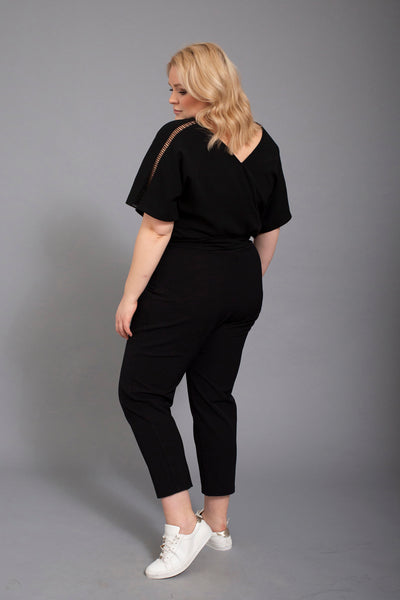 short sleeve jumpsuit