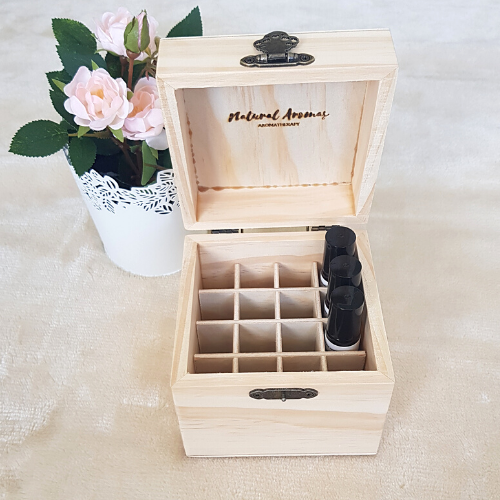Essential Oil Roller Bottle Storage Box (16 slot)