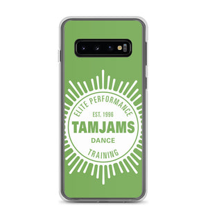TAMJAMS Sunburst Samsung Case - GREEN