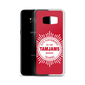 TAMJAMS Sunburst Samsung Case - RED