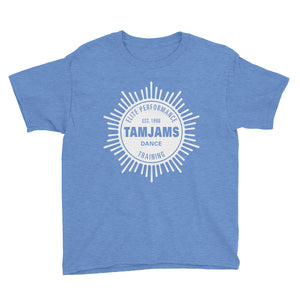 TAMJAMS Sunburst Youth Short Sleeve T-Shirt - 11 COLORS AVAILABLE