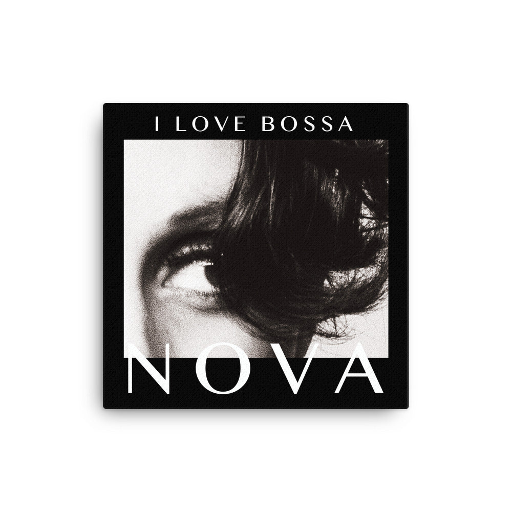 NOVA Canvas Print - BLACK