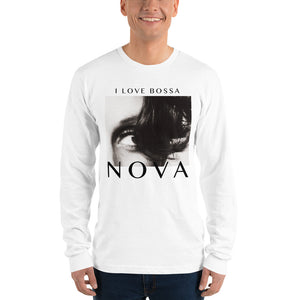 NOVA Long Sleeve Unisex T-shirt - WHITE