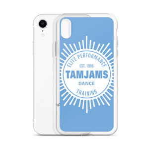 TAMJAMS Sunburst iPhone Case - BLUE