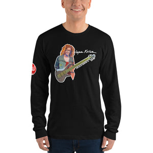 Lynn Keller Signature Bass Long sleeve t-shirt