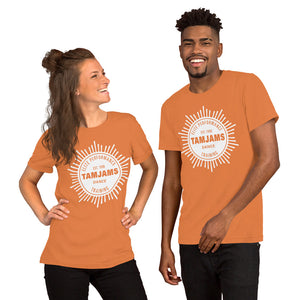 TAMJAMS Sunburst Unisex Short-Sleeve T-Shirt - 11 COLORS